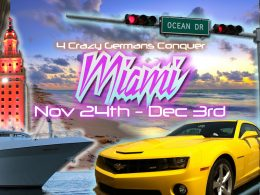Lieber Sonnenbrand als Gefrierbrand – Miami, Disney, Parties, Alligatoren und der Golf von Mexiko are waiting!!